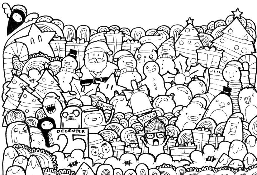 Раскраска Время приключений Скачать Персонаж из мультфильма, Время Приключений .  Распечатать ,Антистресс,
