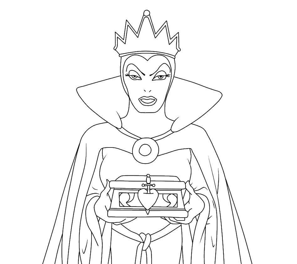 Раскраска Королева Скачать Комиксы, Черепашки Ниндзя.  Распечатать ,черепашки ниндзя,