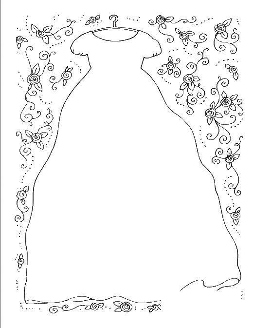 Раскраска Свадьба Скачать Зима, снег, снежинки, балерина, варежки.  Распечатать ,зима,
