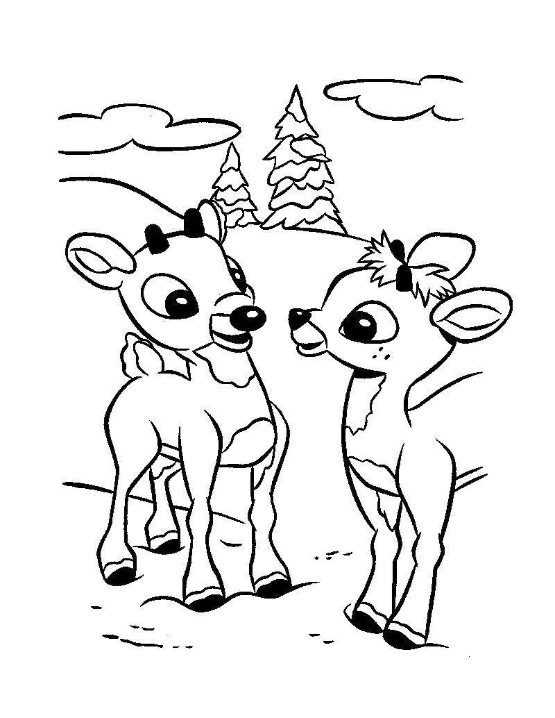 Раскраска Животные Скачать мини, принцессы, дисней.  Распечатать ,Диснеевские раскраски,