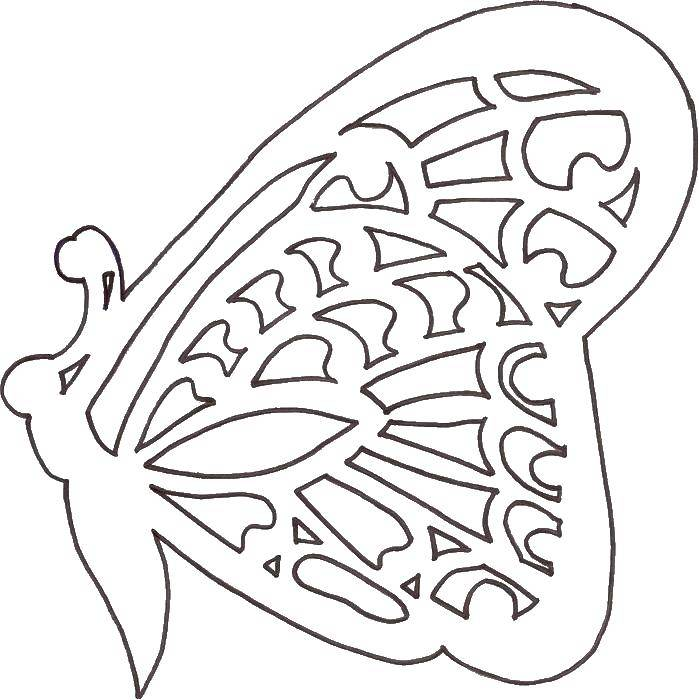 Раскраски трафареты сердца шаблоны из бумаги | Валентинки ... | 700x699
