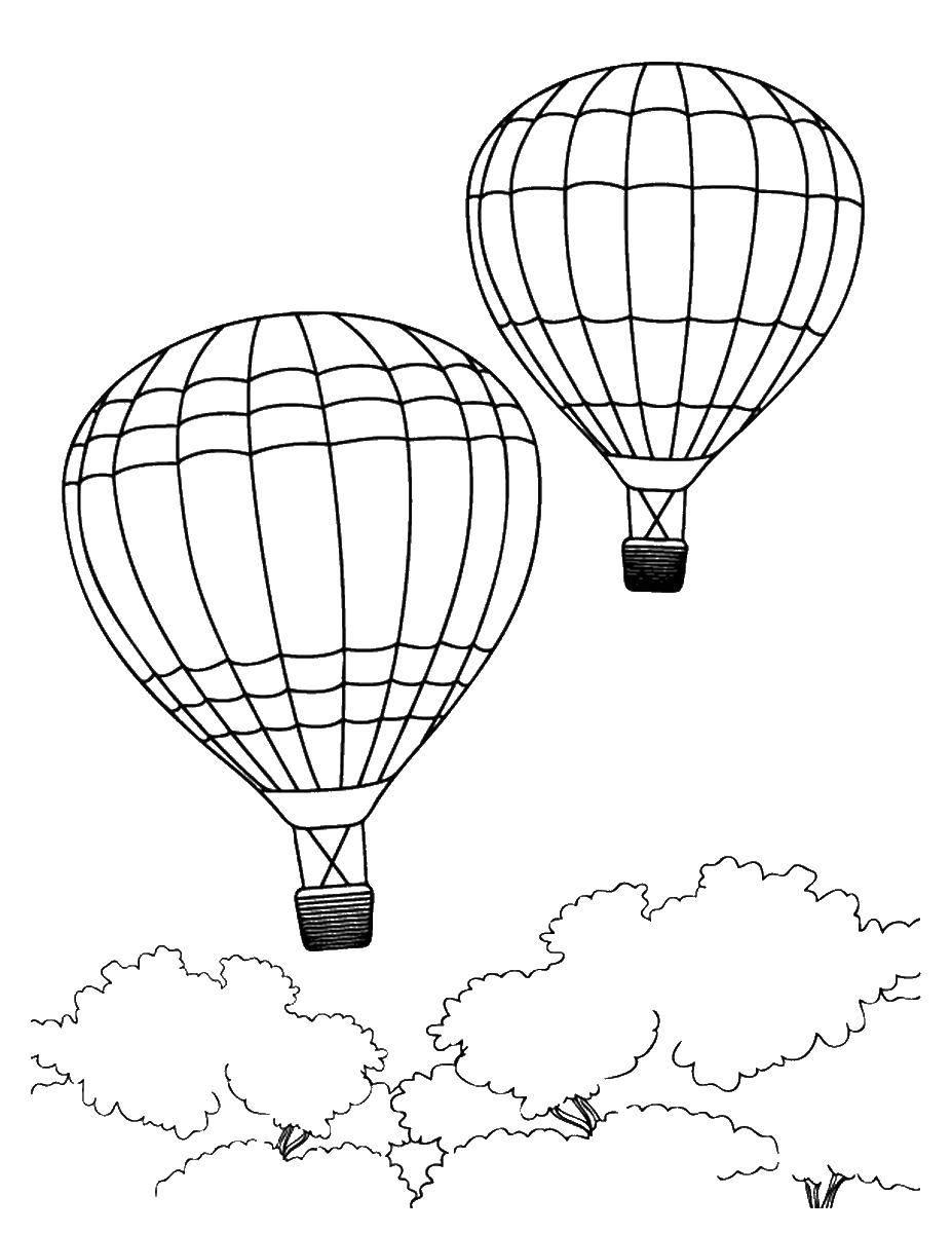Раскраска летательные аппараты Скачать Спорт, гимнастика.  Распечатать