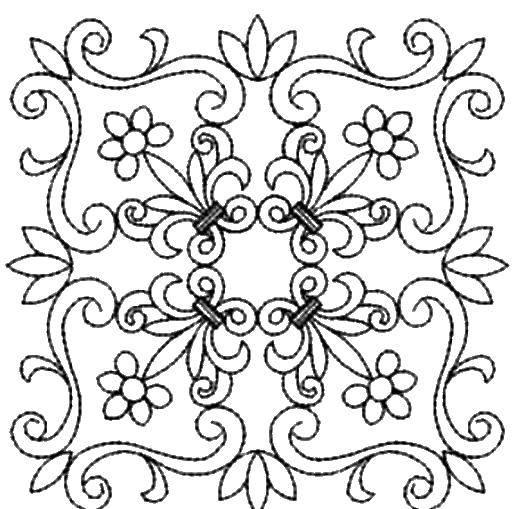 Раскраска Элементы для дизайна Скачать дизайн.  Распечатать ,винтажные рамки для текста,