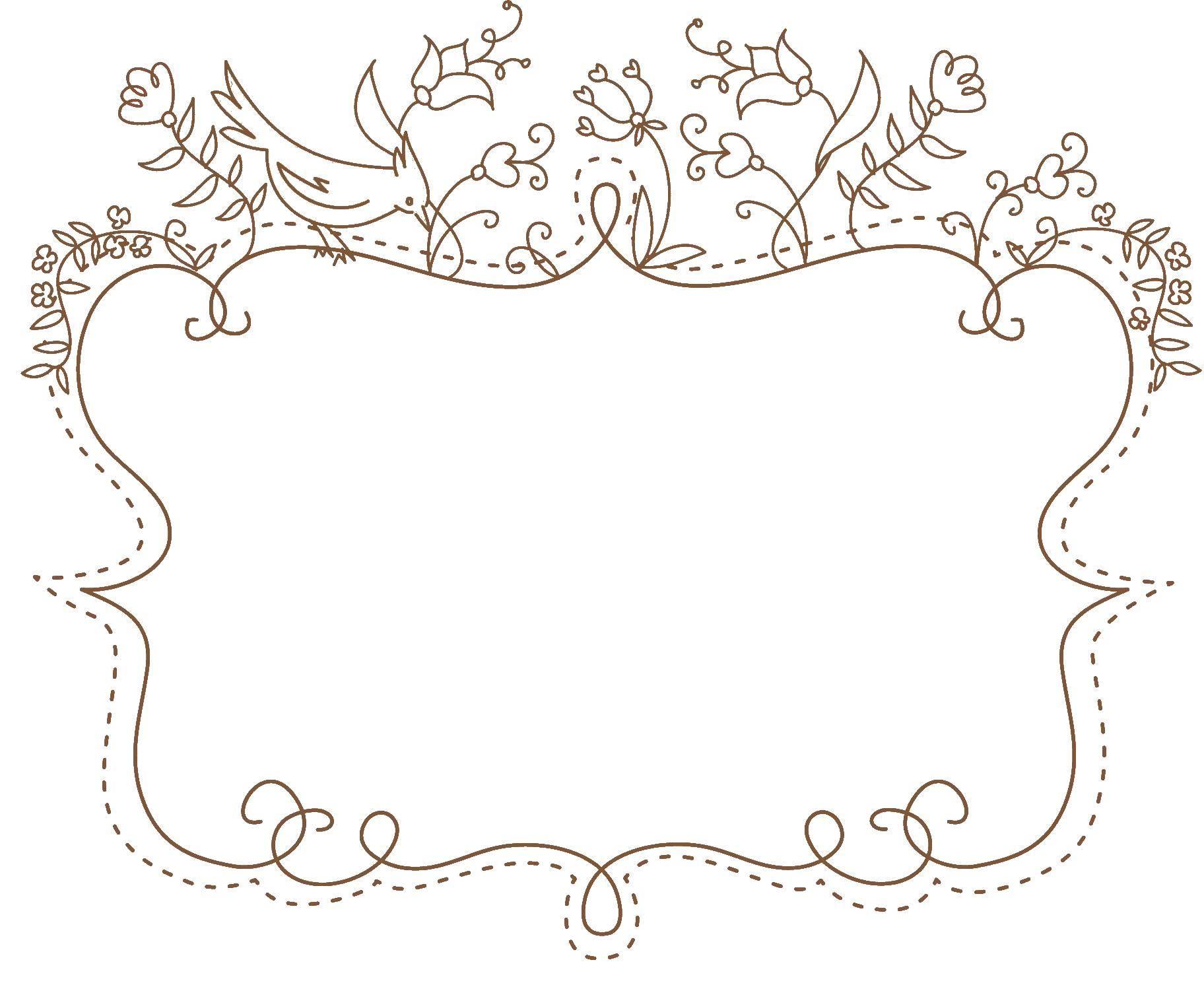 Раскраска Красивая рамка с завитушками Скачать рамка.  Распечатать ,рамки для текста,