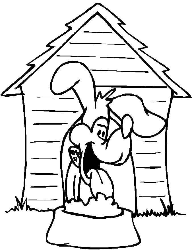 Раскраски собака, Страница:30.