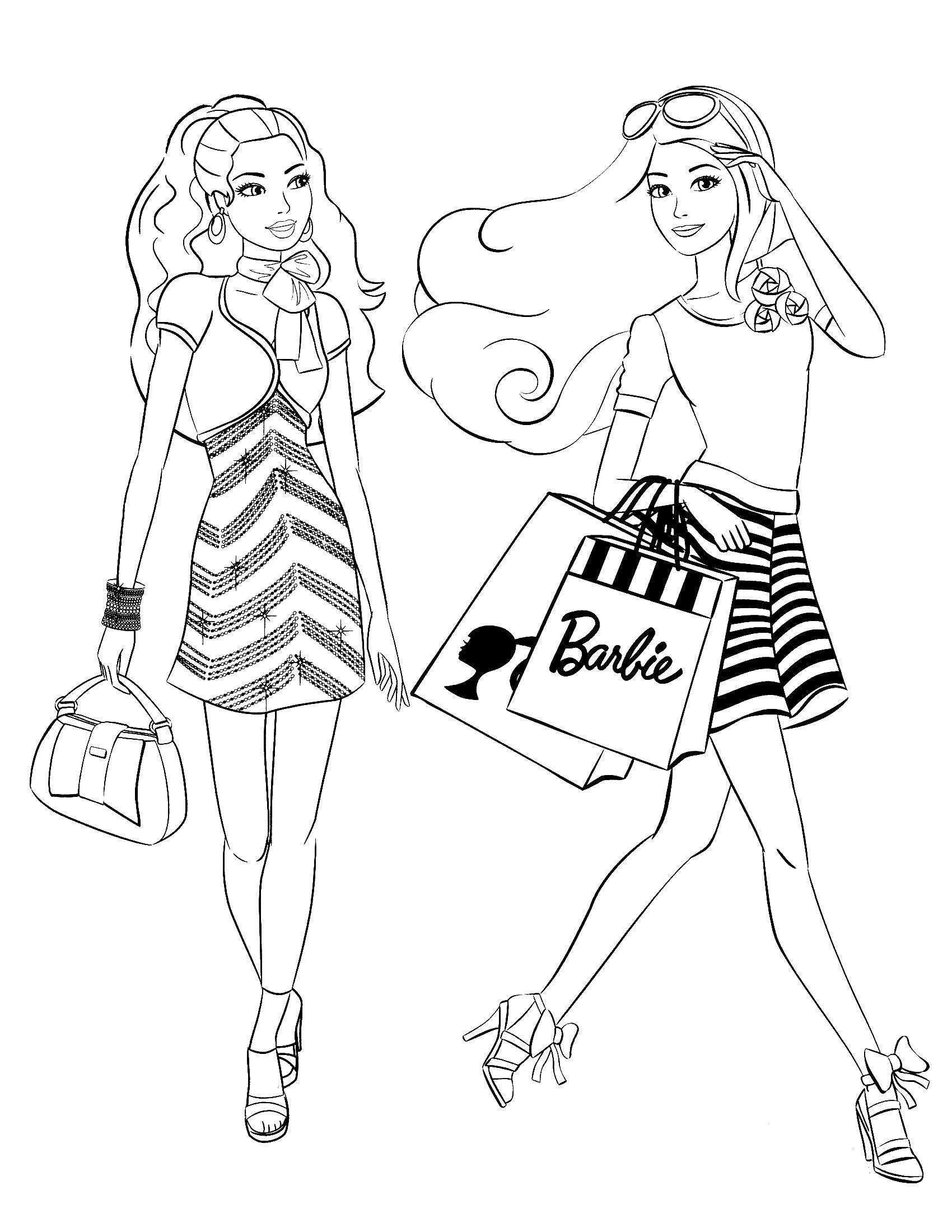 Раскраска Барби Скачать майнкрафт, молот.  Распечатать ,майнкрафт,