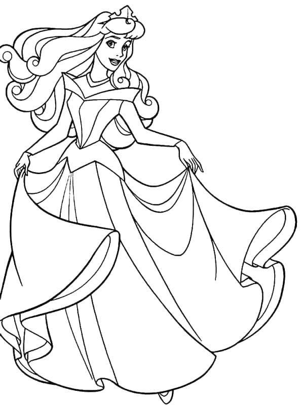 раскраски аврора раскраска принцесса аврора принцессы