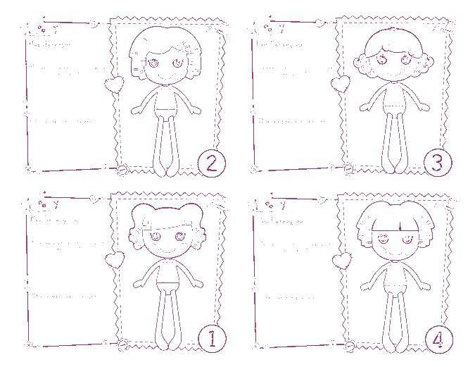 Раскраска Куклы лалалупси Скачать ,лалалупси, куклы,.  Распечатать