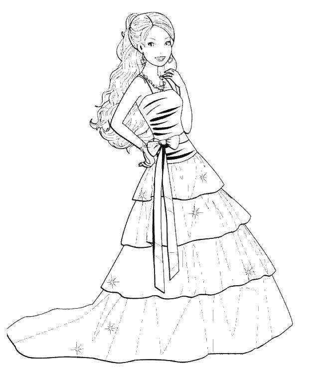 Раскраски платье, Страница:26.