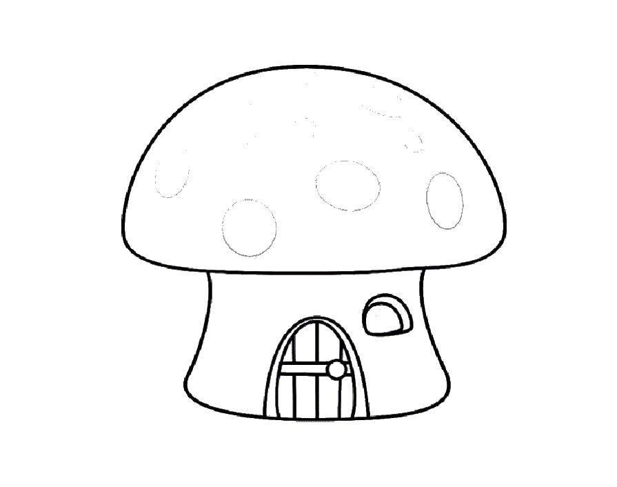 Раскраска грибы Скачать шарлотта, земляничка, мультики, собака.  Распечатать ,шарлотта земляничка мультики,