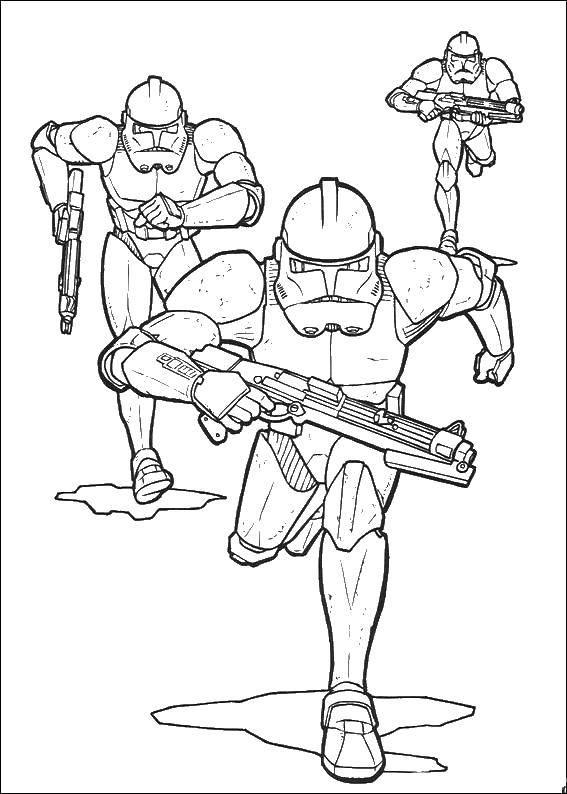 Раскраска звездные войны Скачать Персонаж из мультфильма, Бен Тен.  Распечатать ,Персонаж из мультфильма,
