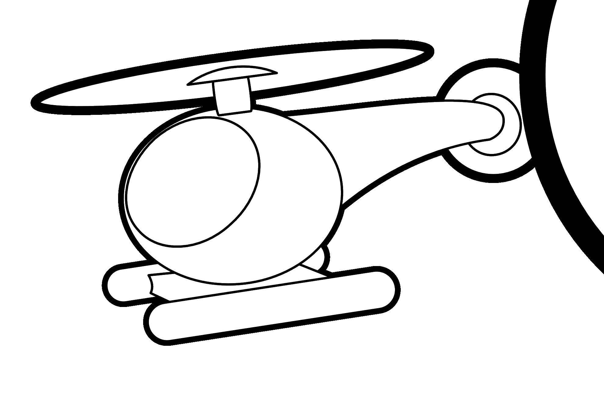 Раскраска Вертолеты Скачать ,лист, тетрадь, линейка,.  Распечатать
