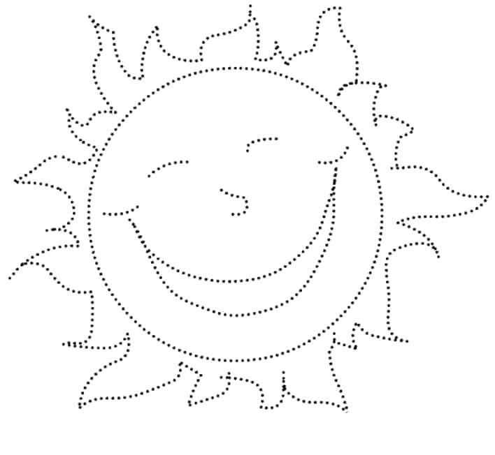 Раскраска Солнце Скачать ,Листья лопуха,.  Распечатать