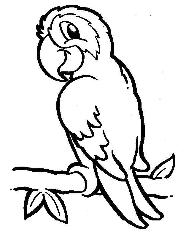 Раскраска птицы Скачать ,Ветер,.  Распечатать