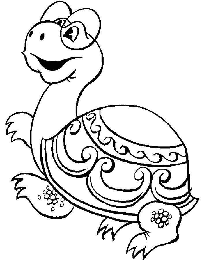 Раскраска черепаха Скачать ,Деньги,.  Распечатать