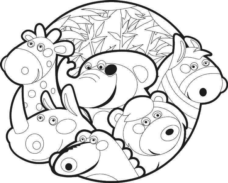Раскраска Животные Скачать Персонаж из мультфильма, Бен Тен.  Распечатать ,Персонаж из мультфильма,