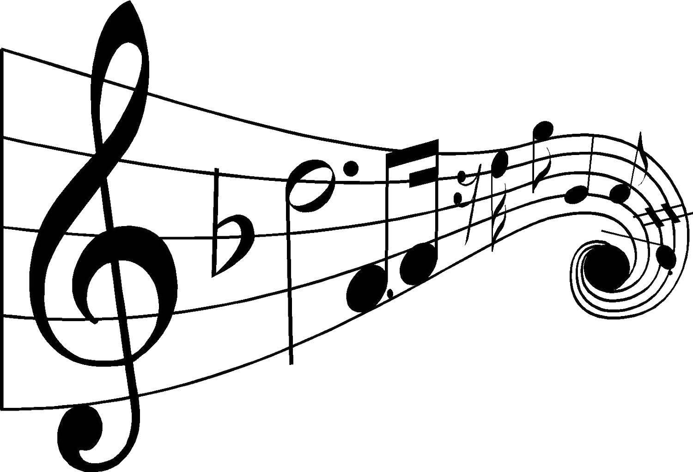 Раскраска музыка Скачать ,Музыка, инструмент, музыкант, ноты,.  Распечатать
