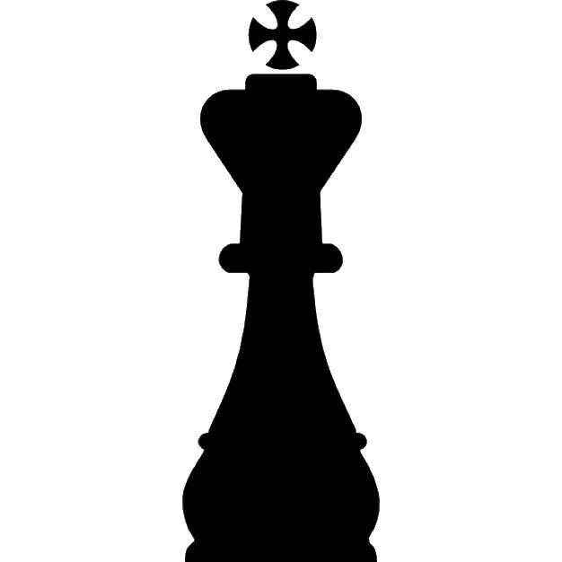 Раскраска шахматные фигуры Скачать ,Шахматы,.  Распечатать