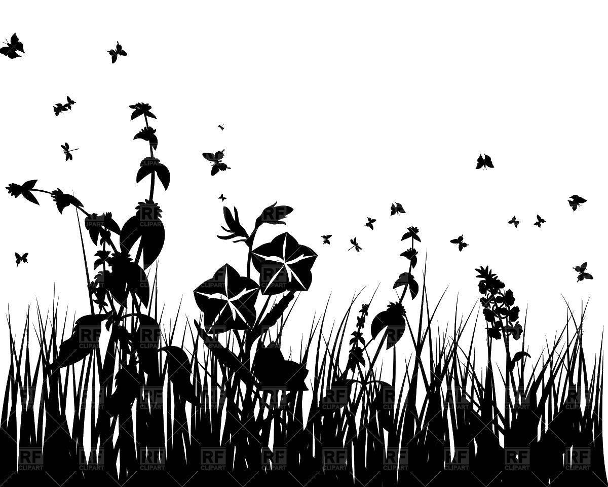 Название: Раскраска Бабочки в цветах. Категория: контуры бабочек для вырезания. Теги: Контур, бабочка.
