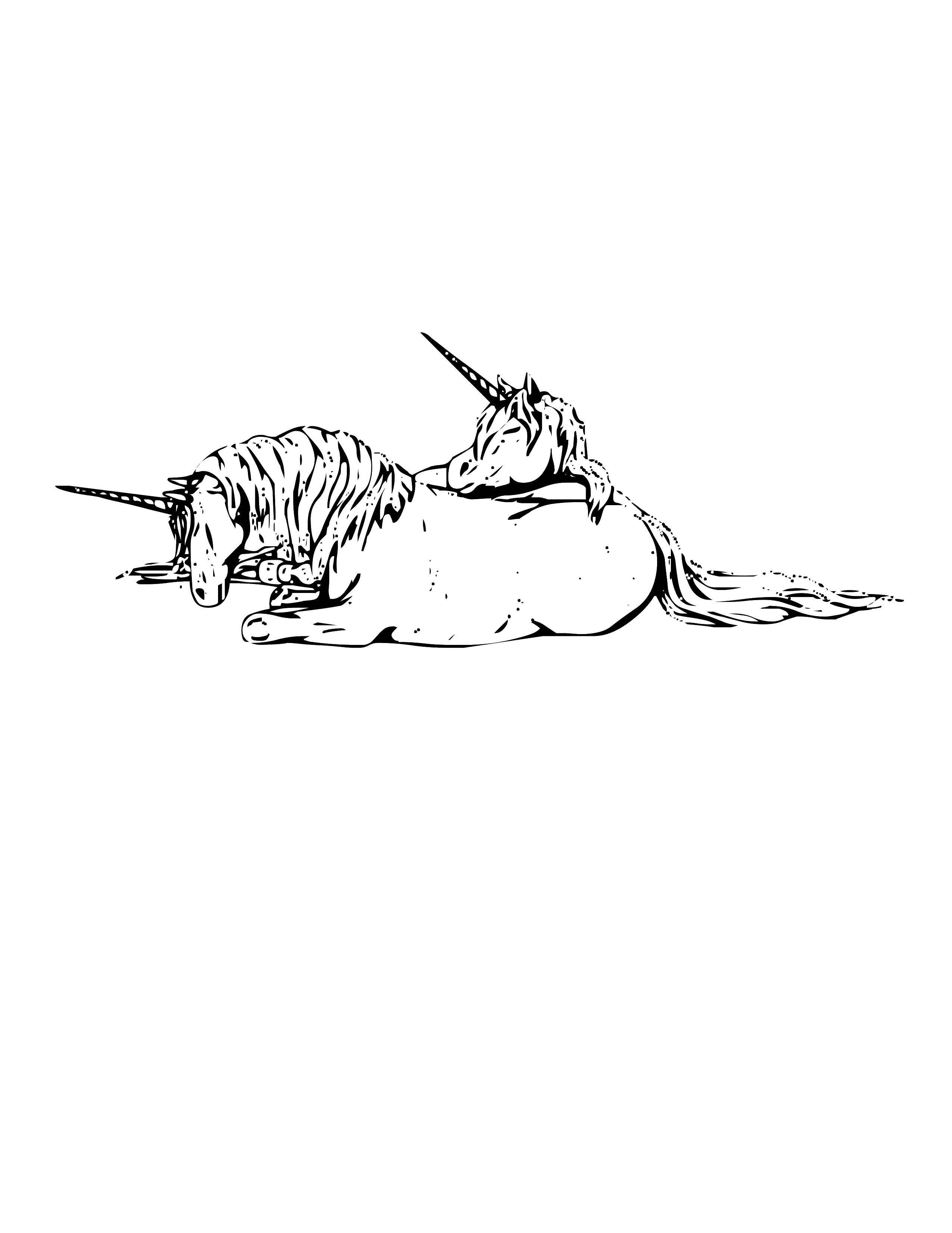 Раскраска лошади Скачать ,коробка, подарок, бант,.  Распечатать