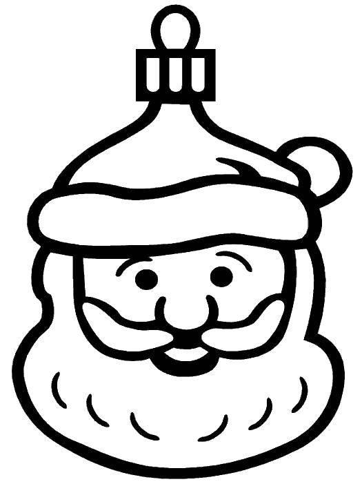 Раскраска Рождество Скачать ,шопкинс,торт,.  Распечатать