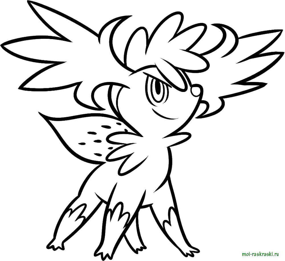 Раскраска Картинка покемоны Скачать ,покемоны,.  Распечатать