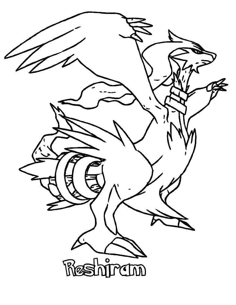 Раскраски покемон, Страница:2.