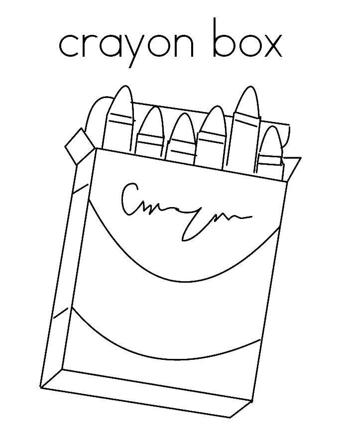 раскраски мел раскраска коробка с мелками раскраски