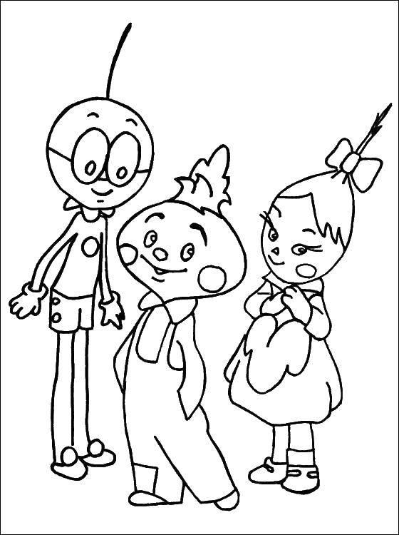 Раскраска Персонаж из мультфильма Скачать Наука.  Распечатать ,наука,