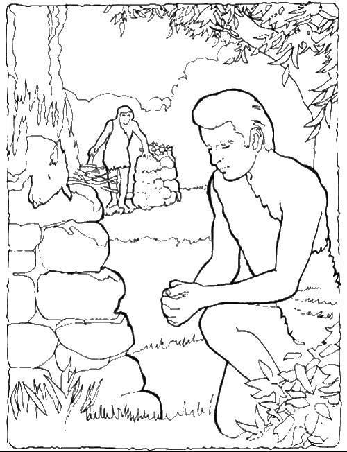 Раскраска адам и ева Скачать ,Бамблби, трансформер,.  Распечатать