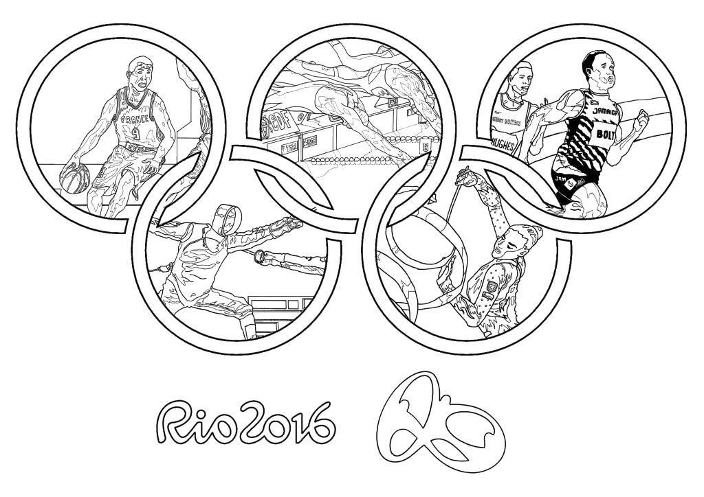 Раскраска Олимпийские игры Скачать Олимпиада.  Распечатать ,игры,