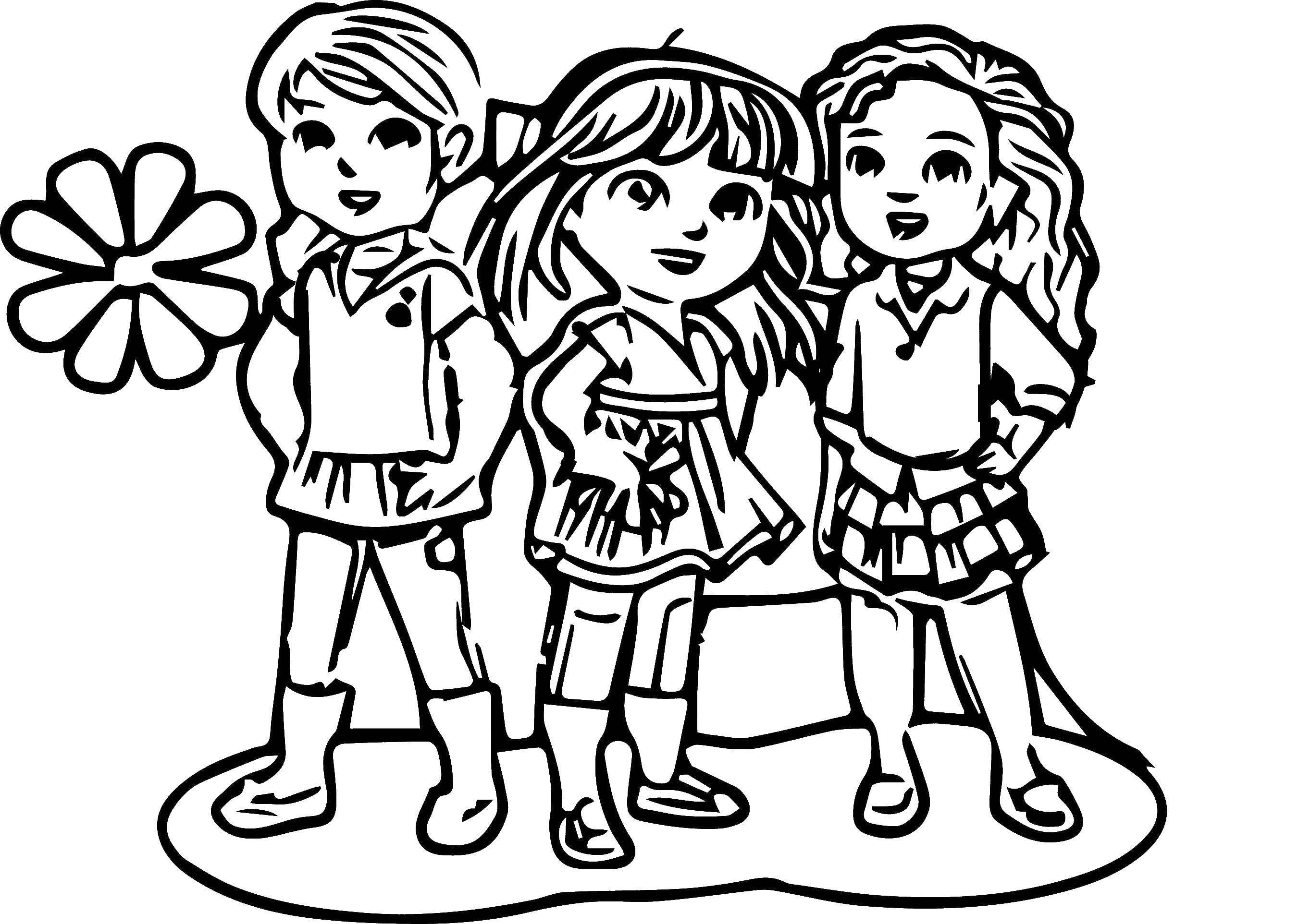 Раскраска Для девочек Скачать динозавры, любовь.  Распечатать ,динозавр,