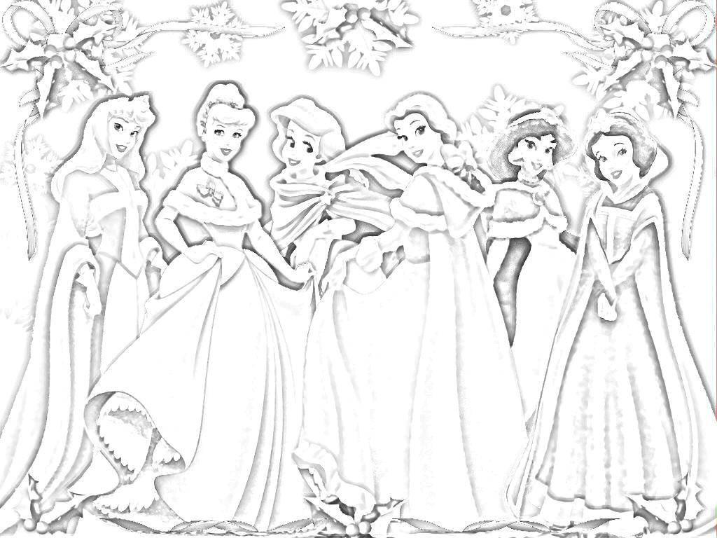 Раскраска Принцессы диснея Скачать принцесса, дисней.  Распечатать ,принцесса,