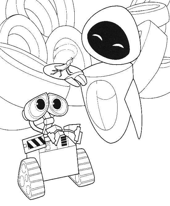 Раскраска Робот Скачать роботы.  Распечатать ,киборг,