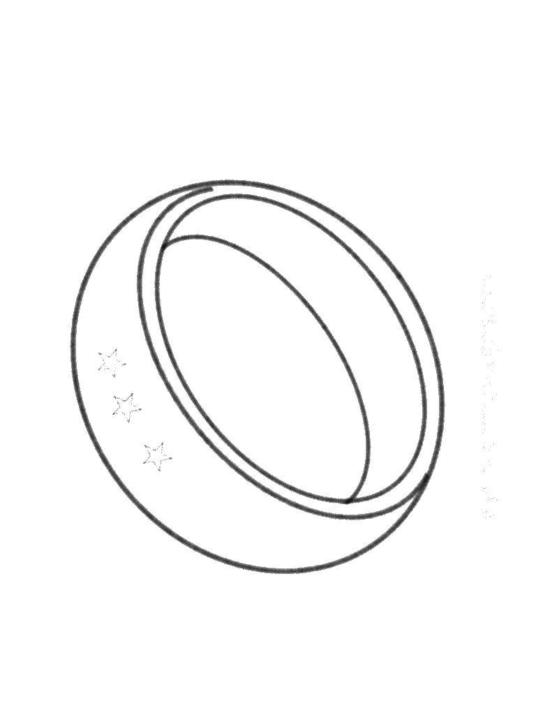 раскраски раскраска кольцо кольцо скачать распечатать