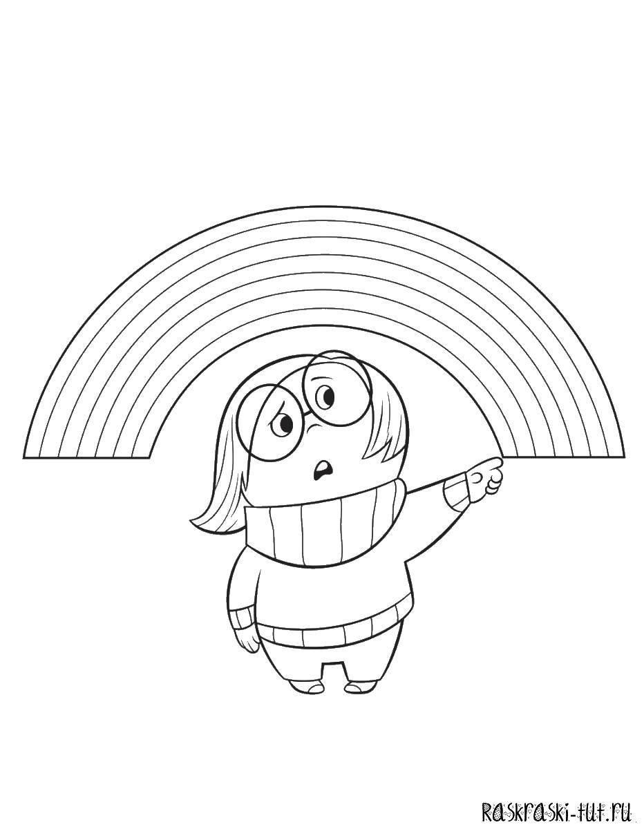 Раскраска Головоломка Скачать Головоломка, мультфильм.  Распечатать ,головоломка,