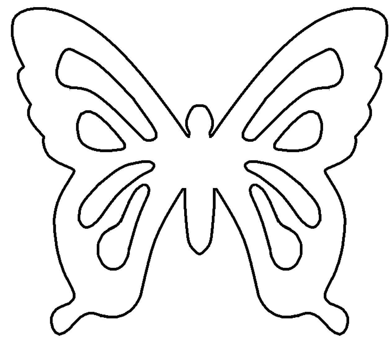 Раскраска бабочки Скачать Дисней, принцесса.  Распечатать ,Диснеевские раскраски,