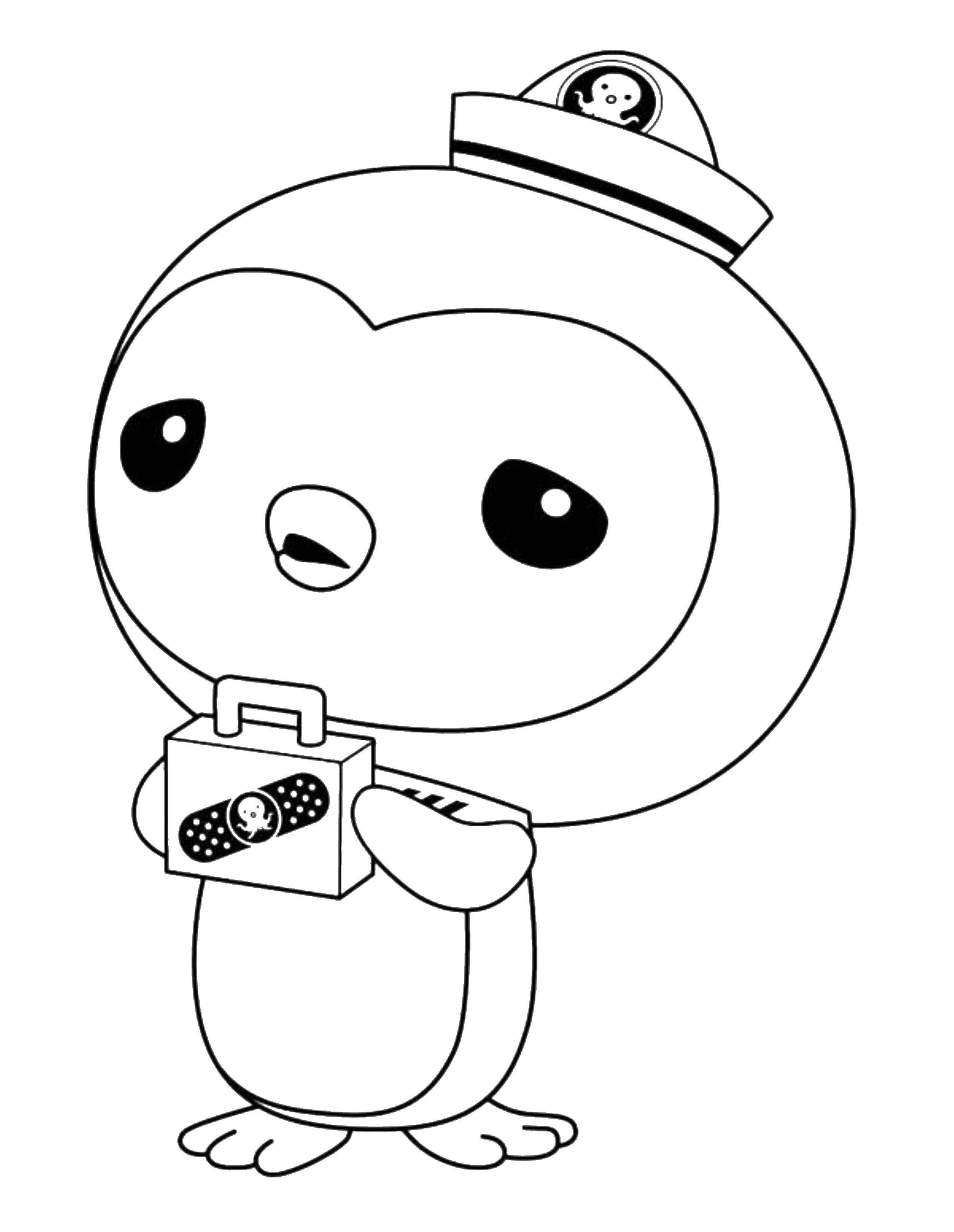 Раскраска Октонавты Скачать ,Октонавты, мультфильм,.  Распечатать