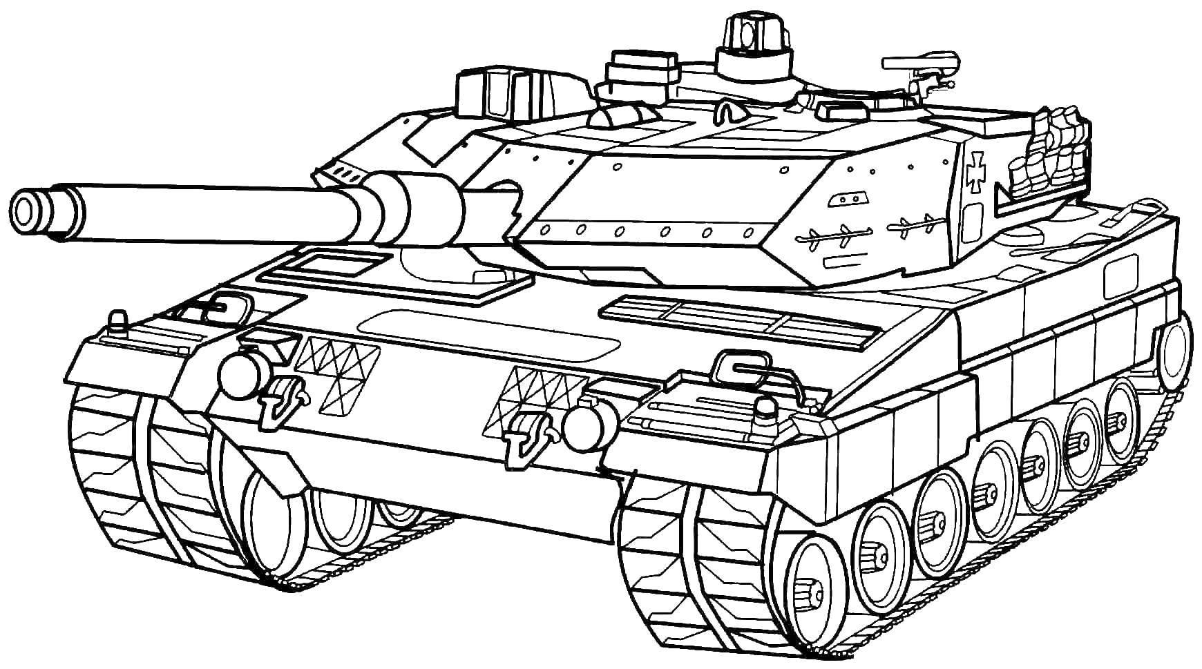 Раскраска Спецтехника Скачать ,военная техника, танк, спецтехника,.  Распечатать