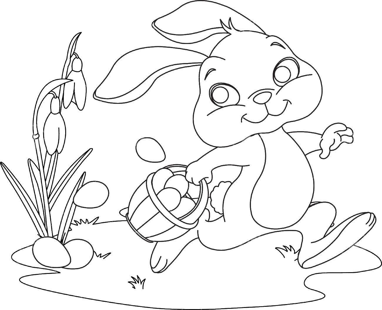 Раскраска кролик Скачать Балерина, балет, танцы.  Распечатать ,балерина,