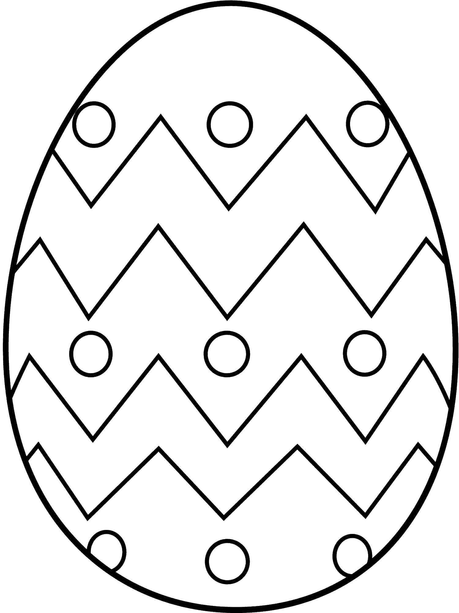 Раскраска пасхальные яйца Скачать ,Корабль, ледокол,.  Распечатать