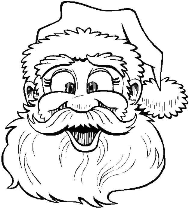 Раскраска Рождество Скачать .  Распечатать