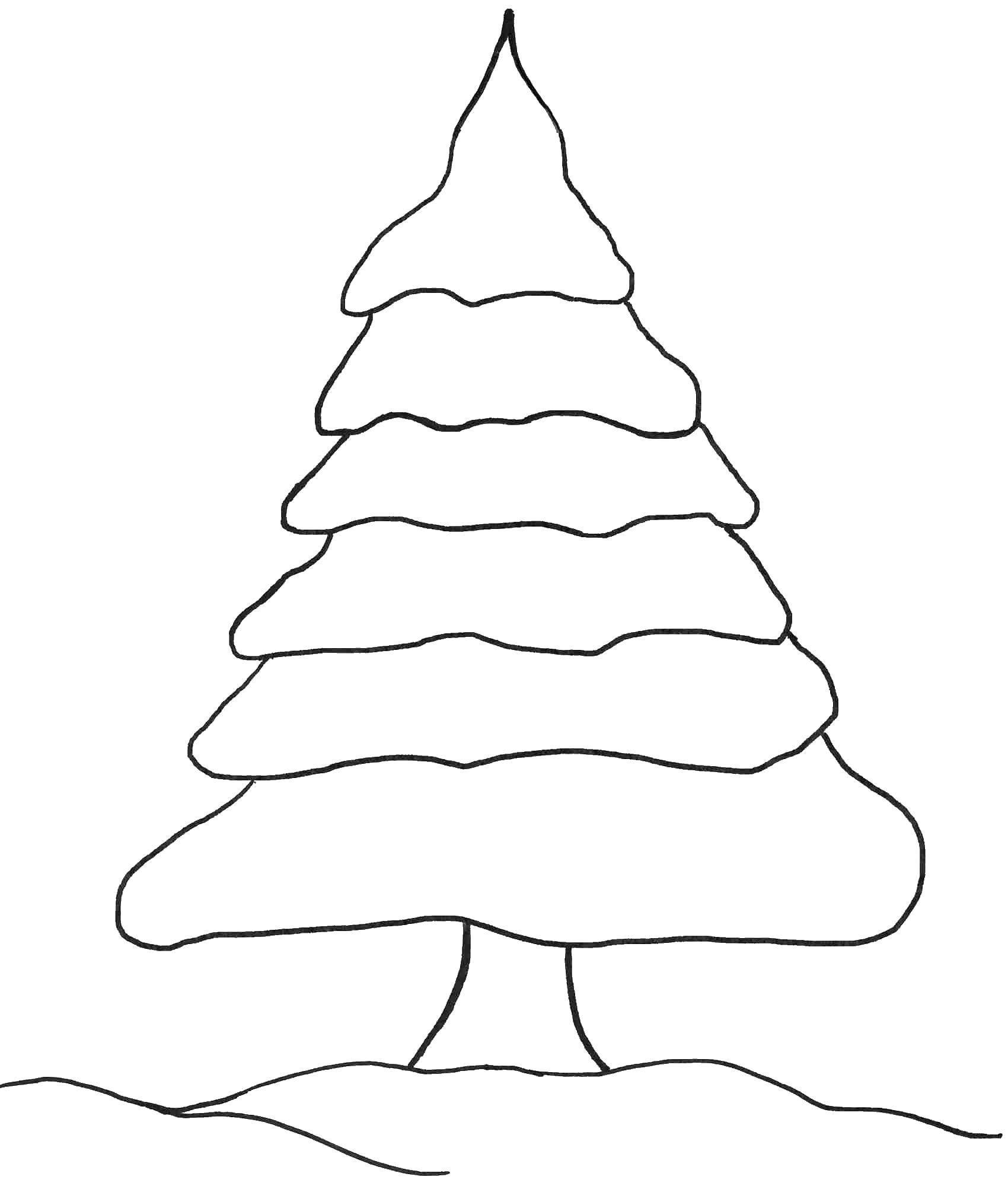 Раскраска Рождество Скачать ,Торт, еда, праздник,.  Распечатать