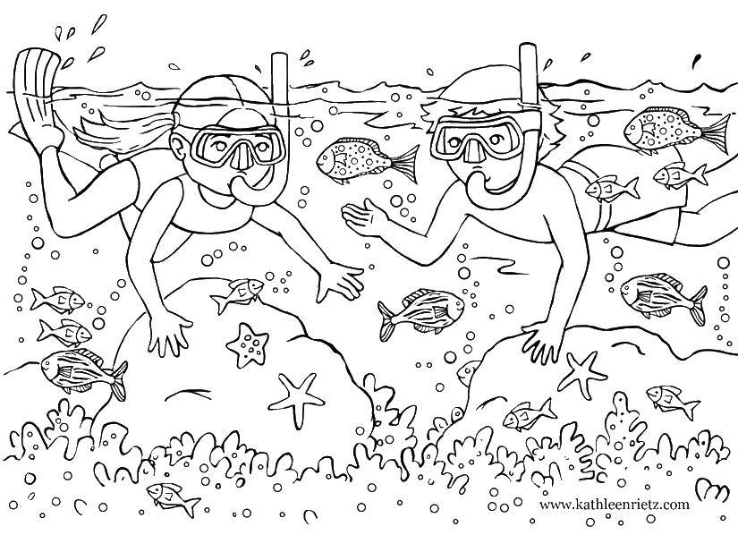 Раскраска Летние развлечения Скачать ,Грузовой, камаз,.  Распечатать