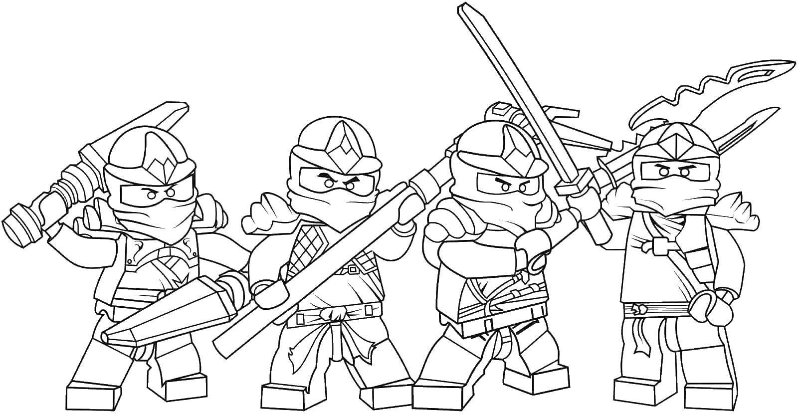 Раскраска Лего Скачать майнкрафт, солдат.  Распечатать ,майнкрафт,