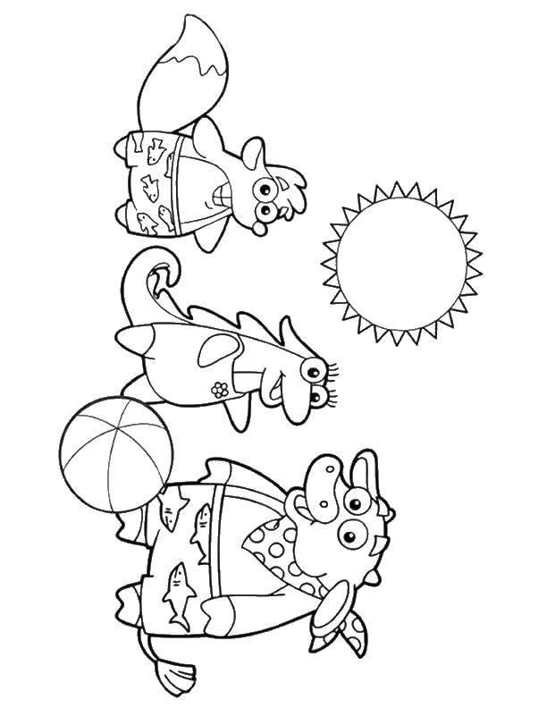 Раскраска Персонаж из мультфильма Скачать ,мальчик, девочка, кость,.  Распечатать