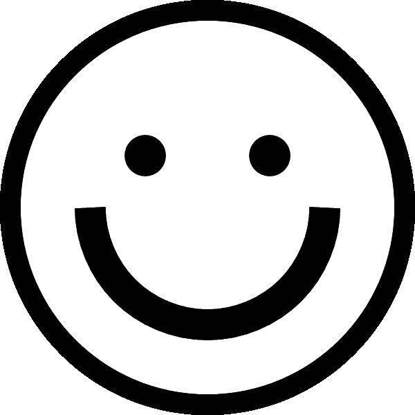 Раскраска Смайлик улыбка Скачать смайлик, улыбка.  Распечатать ,смайлики,