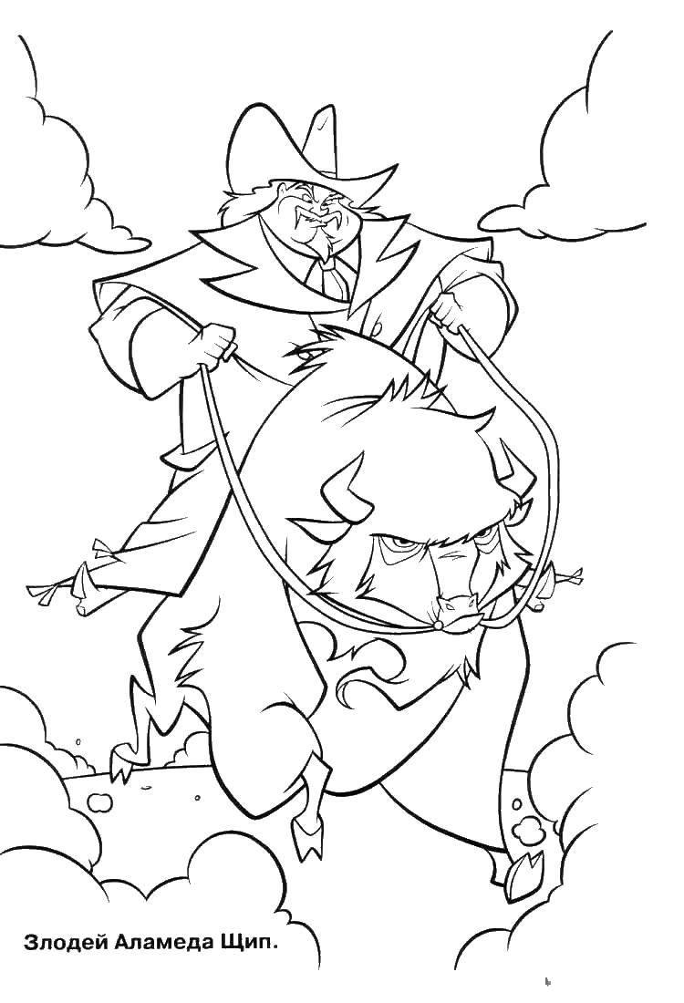 Раскраска Диснеевские мультфильмы Скачать майнкрафт, молот.  Распечатать ,майнкрафт,