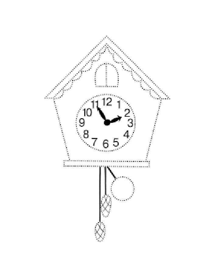 Раскраска Часы Скачать ,на мышление, логика, задача, загадка,.  Распечатать