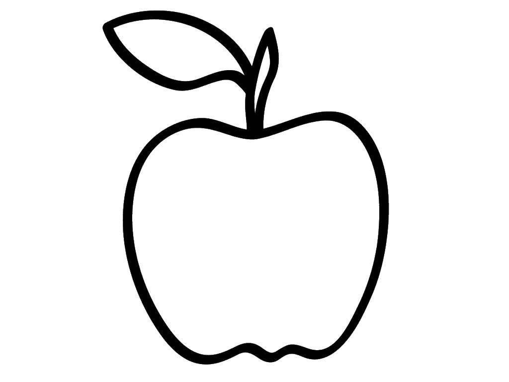 Раскраска Контуры фруктов Скачать Вуди, игрушки.  Распечатать ,история игрушек,